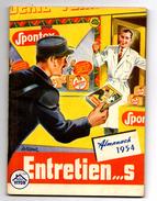 ALMANACH 1954 Publicité SPONTEX - Calendriers