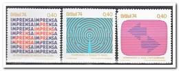 Brazilië 1974, Postfris MNH, Media - Brazilië