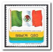 Brazilië 1974, Postfris MNH, Visit Of Luis Alvares Echevarria President Of Mexico - Brazilië
