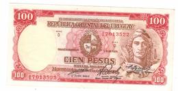 Uruguay, 100 Pesos, 1939, XF.   Free Ship. To USA. - Uruguay
