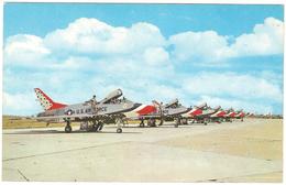 Thunderbirds - Langley Air Force Base - 1946-....: Era Moderna