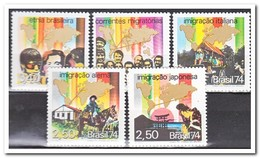 Brazilië 1974, Postfris MNH, Origin Of The Brazilian Population - Brazilië