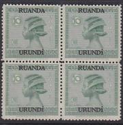 N° 79  XX  MNH  NEUF  IN BLOK VAN 4 - 1924-44: Ungebraucht