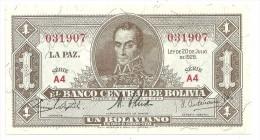 Bolivia 1 Boliviano 1928 UNC - Bolivia