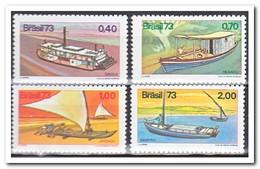 Brazilië 1973, Postfris MNH, Brasilian Ships - Brazilië