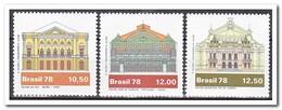 Brazilië 1978, Postfris MNH, Brazilian Theater - Brazilië