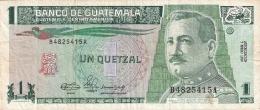 GUATEMALA   1 Quetzal   3/1/1990   P. 73a - Guatemala