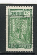 CAMEROUN - Y&T N° 137° - Récolte Du Caoutchouc - Cameroun (1915-1959)