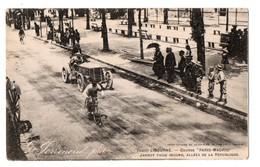"""33 - Libourne . Course """"  Paris Madrid """" . Jarrot Passe Le Second, Allée De La République  - Réf. N°84 - - Libourne"""