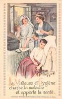 Infirmière / La Visiteuse D'Hygiène Chasse La Maladie Et Apporte La Santé - Health