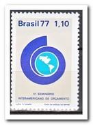 Brazilië 1977, Postfris MNH, Inter-American Budget Seminar Brasilia - Brazilië