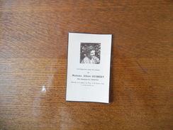 SOUVENEZ-VOUS DANS VOS PRIERES DE MADAME ALBERT GUIBERT NEE MARGUERITE HERPIN RENTREE A LA MAISON DU PERE LE 20/02/1946 - Andachtsbilder