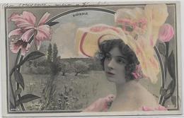 CPA Artiste REUTLINGER Théâtre Cocotte Art Nouveau Photographie Surréalisme Photo Circulé Diéterle - Artisti