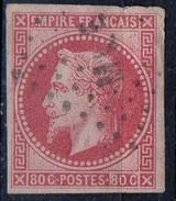 PIA - FRANCIA - 1853-60 : Secondo Impero : Napoleone III  -  (Yv 17Ba) - 1853-1860 Napoléon III