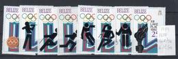 Belize 1979  Olimpiadi -- Yert. 447/54 -- **MNH / VF - Belize (1973-...)