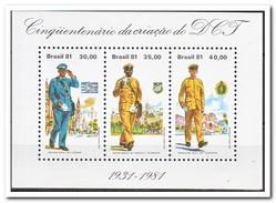 Brazilië 1981, Postfris MNH, Postmen - Ongebruikt