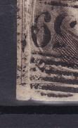 N° 6 Touché PLI ACCORDEON Perception 159 LUTTRE COBA +10.00 - 1851-1857 Médaillons (6/8)