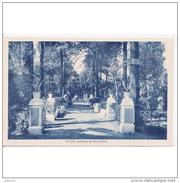 SVLLTPA1871-LFTD12087TBES.Tarjeta Postal DE SEVILLA.ARTE.Escultura,arquitectura,arboles.JARDINES DE SAN PABLO  DE ECIJA - Esculturas