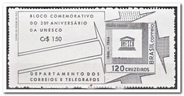 Brazilië 1966, Postfris MNH, 20 Years UNESCO - Brazilië