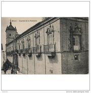 SVLLTPA1877CPA-LFTD1223TBES.Tarjeta Postal DE SEVILLA.ARTE.Escultura,arquitectura,CUARTEL DE LA REMONTA  DE ECIJA - Esculturas