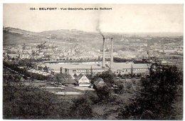 CPA 90 ( Territoire De Belfort ) -  BELFORT - Vue Générale , Prise Du Salbert - Belfort - Ville