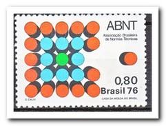 Brazilië 1976, Postfris MNH,  Society For Technical Standards - Brazilië