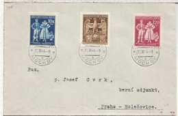 ALEMANIA REICH 1944 BOHEMIA Y MORAVIA MOCHOV - Bohemia Y Moravia