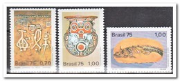 Brazilië 1975, Postfris MNH, Brazilian Archaeological Discoveries - Brazilië