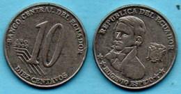 R80/ ECUADOR / EQUATEUR   10 CENTAVOS 2000