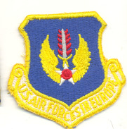 Ecusson Tissus Us Air Force In Europe - Patches