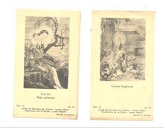 RELIGION - 2 Images Pieuses - Ière Messe De Henri HEINDRICHS à STEMBERT En1942 Auxillaire Des Missions, Chine / China - Devotion Images