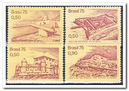 Brazilië 1975, Postfris MNH, Fortresses From The Colonial Period - Brazilië