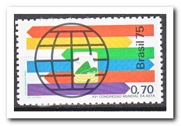 Brazilië 1975, Postfris MNH, ASTA World Congress - Brazilië