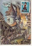 FDC, 300 Jahre Wiener FEUERWEHR; 1986,  Maxi Card, Maximum AK - - Feuerwehr