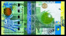 KAZAKHSTAN 2000 TENGE 2011 Pick 36 Unc - Kazakhstan