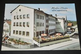 693- Hofer-Bräu, Hotel-Gaststätte, Furth I. Wald - Furth