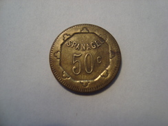 JETON 50 CENTIMES A CONSOMMER SPANAGEL - Monetari / Di Necessità