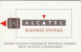 Czechoslovakia, CS-CSF-PUB-0023, Promotion - Alcatel, 2 Scans.    Chip : SC5  SB - Czechoslovakia
