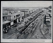 1903  --  PANAMA   --   LA REVOLUTION A COLON  TROUPE D INSURGES   3L.939 - Vieux Papiers
