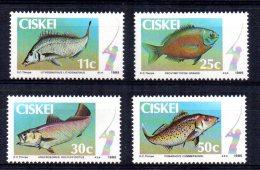 Ciskei - 1985 - Coastal Angling - MNH - Ciskei
