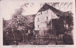 Allemagne, Umweg. Gasthaus Zum Weinberg Otto Liebich Steinbach, Censure (3) Usure Des Angles - Baden-Baden