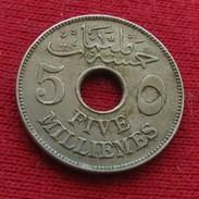 Egypt  5 Milliemes 1335 1917 KM# 315 Egipto Egypte Egito Egitto Ägypten 2L2-2 - Egypt