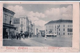 Bratislava - 1900 , Stefanka , Palisady - Slovaquie