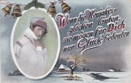 DECO NOEL---wenndie Meujahrs Glocken ......---voir 2 Scans - Fêtes - Voeux
