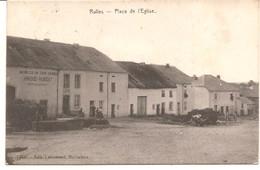 RULLES PLACE DE  L 'EGLISE  Edit. Marbehan  Cachetee 1910   Ref.  6/178  D2 - Belgique