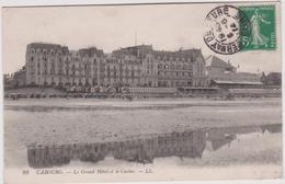 Calvados : CABOURG :  Vue Grand  Hotel Et  Casino - Cabourg