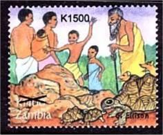 Zm1054 Zambia 2008, SG1054, K1,500 Surcharge On K1,400 Creation  MNH - Zambia (1965-...)