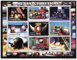 MERRY CHRISTMAS,CARTOON,MOVIE,STORY On SHEET STAMPS,MNH,MINT,#BA234 - Cinema
