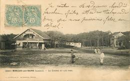 Dép 40 - Jeux - Casinos - Mimizan Les Bains - Le Casino Et Les Pins - Henry Guillier N° 2627 - état - Mimizan