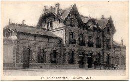 95 SAINT-GRATIEN -La Gare    (Recto/Verso) - Saint Gratien